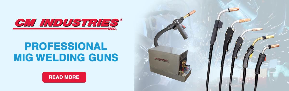 cm industries robotic mig welding torches mig welding guns